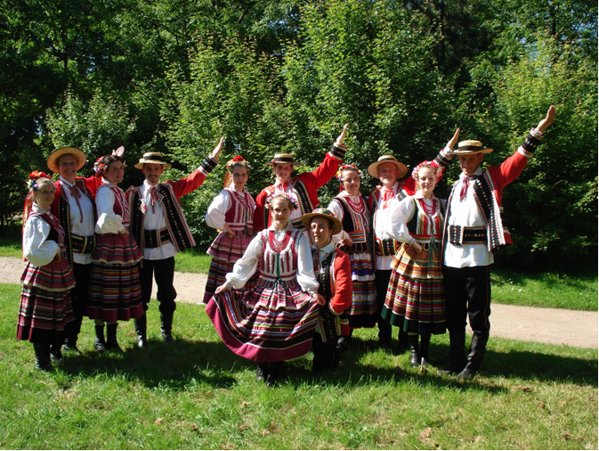 Costume Lubelskie - groupe folklorique polonais KALINA